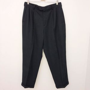 Claiborne dress pants size 36 x 30 pleated black